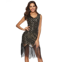 0d6ae6bcc Wholesale gatsby dresses for sale - Group buy Flapper Girls s Gatsby  Vintage Party Dress Sequin