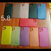 Ультра тонкий тонкий матовый матовый прозрачный прозрачный гибкий PP Cover Cover Cale Case для iPhone 12 Mini 11 Pro Max X XS XR 8 7 Plus SE
