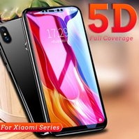 9D 5D Curved Full Glue Tempered Glass For Xiaomi Play 9H Ful...