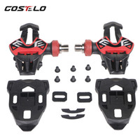 165g only Costelo ultra light Road Pedals Carbon Ti Tianium ...