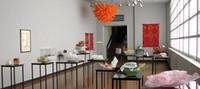 Pure Cadeia colorido laranja Pendant Chihuly Estilo Chifre Chandelier Art Decoração Iluminação mão soprado vidro Murano luminária