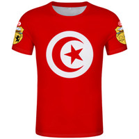 TUNISIA t shirt diy free custom name number tun T-Shirt nation flag tunisie tn islam arabian arab tunisian print photo 0 clothing