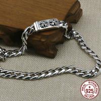 100% S925 collier en argent sterling personnalité mode classique bijoux punk style lettre croisée pour envoyer un cadeau d'amour 2018 chaud