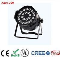 24x12 watt 4in1 rgbw led par licht DJ Par Cans aluminiumlegierung Shell stadium licht dmx licht
