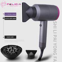 Sèche-cheveux électrique de qualité supérieure Felicia Professionnel Salon Outils Souffleur Sèche-linge Chauffer Sèche-cheveux Sèche-cheveux Sèche-cheveux en stock