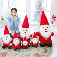 دمية لعبة جديدة Yeay محشوة عيد الميلاد دمية القطيفة عيد الميلاد للعب الاطفال بابا نويل السنة الجديدة هدية عيد الميلاد
