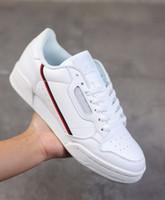 2019 Powerphase Calabasas Continental 80 Rascal Leder Kanye West Freizeitschuhe Grau OG Core-Schwarz Triple-Weiß Männer Frauen Fashion Schuh 36-45