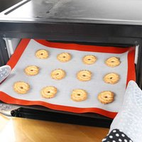 Non- Stick Silicone Baking Mats Cookie Pad Rolling Dough Mat ...