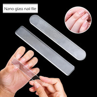 Tamax NA033 Crystal Glass Double Sided Etched Crystal Nail F...