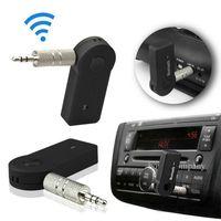 V3.0 EDR 3.5mm بلوتوث موسيقى ستيريو الصوت محول استقبال للسيارة AUX في المنزل المتكلم MP3 شحن مجاني