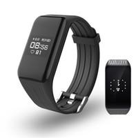 K1 Fitness Tracker Smart-Armband Herzfrequenzmesser wasserdichte intelligente Uhren Activity Tracker-Armbanduhr für iPhone und Android Phone Watch
