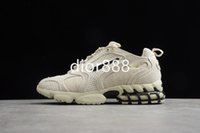2020 New designer luxury hand Spiridon Caged PURE PLATINUM FOSSIL Women Men Running Shoes Sports Sneakers CQ5486-200 CU1854-001