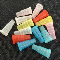 물 담뱃대 Shisha 테스트 손가락 드립 팁 캡 커버 510 플라스틱 일회용 마우스 피스 입 팁 건강한 개별 패키지