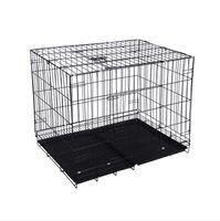 Multi großer mittlerer kleiner Hundeträger Draht Falten Überlastungskatze Käfig Skylight Pet Krippe Home Garten HA149