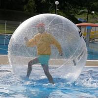 شحن مجاني 2 متر 0.8 ملليمتر pvc نفخ المياه المشي الإنسان الهامستر الكرة زورب الكرة البلاستيك الكرة الرقص المياه لعبة