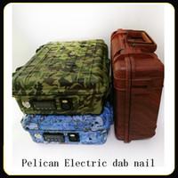 E-Nagel-Pelikan Elektro dab Nagel ENAIL Controller Wachs PID TC-Box mit Titanium 10/16/20 mm domeless mit Titannagel
