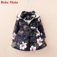 Kids Jackets For Girls 2019 Cotton Warm Thicken Girl Winter ...