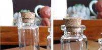 20ML 20X80X12MM Petites bouteilles en verre de petite taille
