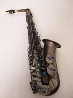 عالية الجودة Yanazawa A-992 E شقة ألتو ساكسفون آلات موسيقية الفنية الأسود ساكسفون مع حالة الترقيات شحن مجاني
