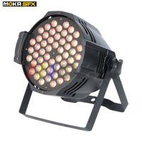 MOKA 8 PCS / LOT MK-P17 Novo Design LED PAR LUZ 54 * 3W RGBW Efeitos Especiais PAR CAN PARA EVENTO DE ESTÁGIO
