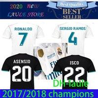 2017 2018 레알 마드리드 축구 유니폼 17 18 베일 벤제 Modric 레트로 축구 셔츠 빈티지 ISCO Maillot Sergio Ramos Ronaldo Camiseta S-3XL