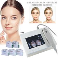 Profissional de alta intensidade focalizada ultrassom hifu máquina 10000 flash face lifter pele apertar a remoção de rugas corpo emagrecimento salão de beleza casa