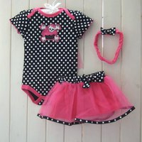 2017 Mode Filles Romper Ensemble Casual Jumpsuit D'été Layette Costume New Born Party Bébé Barboteuses Fille Bébé Vêtements De Noël