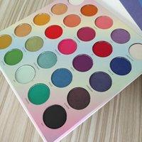 ماكياج لوحة 25L لايف في لوحة ظلال اللون جعل الحياة الملونة لوحة وميض لامع عينيه مستحضرات التجميل DHL الشحن المجاني