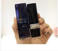 5 colores D lápiz labial Matte 3.5G 999 Lápices labiales de maquillaje rojo con nombre de marca