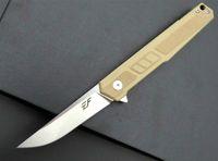 Cuchillo de bolsillo cuchillo plegable de la manija Eafengrow EF88 58-60HRC 9Cr G10 de la lámina acampa de la supervivencia herramienta de caza EDC táctico al aire libre multi herramienta Adker