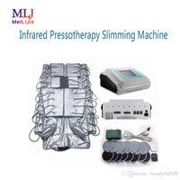 Бесплатная доставка Портативный 3 в 1 дальней инфракрасной терапии Эмс прессотерапия лимфодренаж тела похудения машина