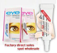 Nuovo adesivo cigli falsi della sferza dell'occhio della colla chiaro trucco bianco nero trucco waterproof Strumenti 7g 2 colori