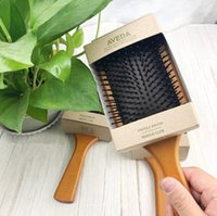 Top Quality AVEDA Paddle Brush Brosse Club Massage Hairbrush Comb Prevent Trichomadesis Hair SAC Massager 0366028-2