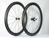 الطريق الدراجة الجبلية ألياف الكربون حافة 700c عمق 25 ملليمتر ، البازلت الفرامل جانب عجلة الدراجة مجموعة 12 كيلو ud ماتي لمعان