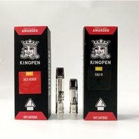 New Flavors Red Stickers Vape Cartridges Packaging 710 Kingp...