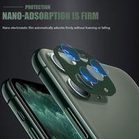 Cobertura completa para cuidado de pantalla completa del protector de lente del teléfono para el iphone 11 Pro Max vidrio templado resistente a los arañazos anti-huella digital clara
