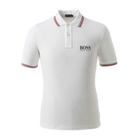 Streets of Paris di lusso Bos polo shirt T-shirt Luxury ricamo mens manica corta High street fashion polo a cavallo T-shirt mabi Marca polo