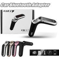 S7 sans fil Bluetooth Bluetooth FM Kit de voiture Cigarette Briquet MP3 MP3 Player USB Chargeur de voiture USB Chargeur Radio Adaptateur de radio