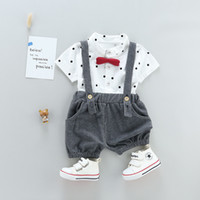 good quality boys summer clothing set children tracksuits fo...