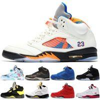 the latest 07ffe 6b891 ... airs hommes 5 OG noir métallisé hommes sneaker sport chaussures or  métallique rabais livraison gratuite taille 41-47 Nike Air Jordan Retro  Retros