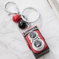 Taşınabilir Anahtarlık Işık Kamera Flaş Anahtarlık Mini LED el feneri Anahtarlık Komik Sevimli Anahtarlıklar Retro Lomo Hediye