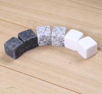 2020 Кухня гаджеты каменный куб Форма из нержавеющей стали Виски льда Кубики Cooler камень Вино Пиво трегеров Mold льдоформы 6 частиц