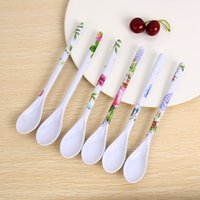 1PC Kitchen Porcelain Spoon Ceramic Long Handle Coffee Sugar...