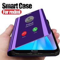 Miroir Smart Case Pour Xiaomi redmi note 8T couvercle du support téléphonique Retourner sur xaomi xiomi redmi note 8 pro 7 a 7a 8a note8 t note8t coque