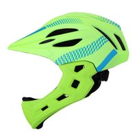 Unisex Chin Cycling Protective Safe Outdoor Bicycle Helmet F...