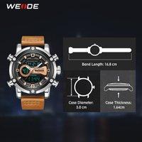 CWP 2021 Weide Watch Europese Luxe Mannen Sport Business Quartz Movement Analoog LCD-digitale kalender Meerdere tijd