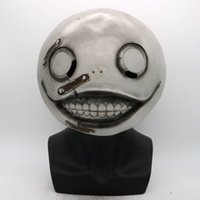 Nier: Emil Masque Halloween Automata Horreur Latex Casque Halloween Costume Masque scène Latex Fou Cool Party Jouer Prop Drop Ship T200509