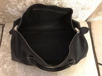 2019 جديد الأعلى بو أزياء الرجال النساء أسود حقيبة سفر واق حقيبة ماركة مصمم حقائب الأمتعة قدرة كبيرة حقيبة رياضية 65 سنتيمتر sfdjhj # 3519
