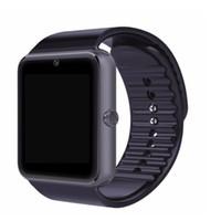 الأكثر مبيعا ووتش الذكية GT08 ساعة مع فتحة بطاقة SIM دفع رسالة بلوتوث اتصال معصمه لنظام أندرويد الهاتف الذكي 1pcs / lot