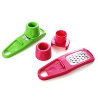 유용한 다기능 생강 마늘 프레스 그라인딩 플래너 플레서 미니 커터 요리 가제 도구 주방 악세사리 180 개